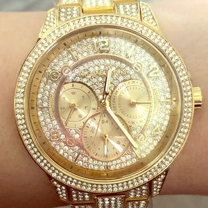 Michael Kors Pave Crystal Watch
